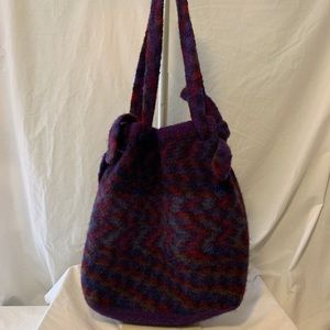 "Handcrafted out of Wool ""The Hippie Bag"""